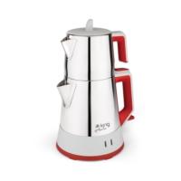King P 317 Aroma Çay Makinesi Kırmızı