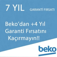 Beko Ek Garanti +4 Yıl