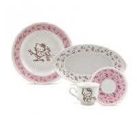 Hello Kitty Manolya 24 Parça Kahvaltı Takımı