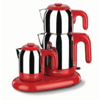 Korkmaz Çay Kahve Makinesi Kırmızı