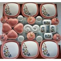 Keramika 37 PRÇ Butterfly Kahvaltı Takımı