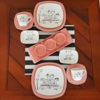 Keramika Keyf-i Aşk 2 Kişilik Kahvaltı Takımı