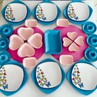 Keramika 31 Prç Butterfly Kahvaltı Takımı