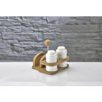 Hiper Porselen Peçete Ve Tuzluk Seti Beyaz