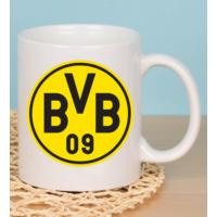 Fotografyabaskı Borussia Dortmund Taraftar Beyaz Kupa Baskı