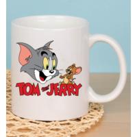 Fotografyabaski Tom and Jerry Beyaz Kupa Baskı