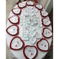 Keramika 54 Parça 12 Kişilik Peri Masalı Kahvaltı Takımı