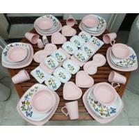 Keramika 52 Parça 6 Kişik Dans Of Butter Fly Yemek Ve Kahvaltı Takımı