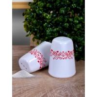 Keramika Set Tuzluk Biberlik Assos 2 Parça Beyaz 004 Zeus