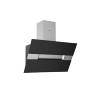 Esty 3374 İnox-Siyah Camlı Duvar Tipi Davlumbaz
