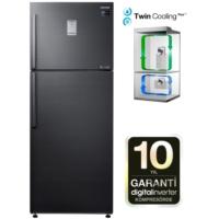 Samsung RT46K6360BS/TR A+ 468 Lt Twin Cooling NoFrost Siyah Buzdolabı