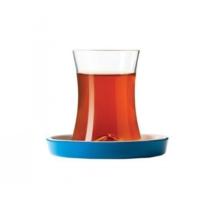 Koleksiyon İstanbul Tiryaki Çay Seti 6`Lı Açık Mavi