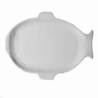 Kütahya Porselen Balık Serisi Tepsi 43 Cm