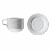 Kütahya Porselen Zümrüt Serisi Çay Fincanı 6 Lı Takım