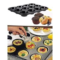 T Design 12' Li Muffin Kek Kalıbı
