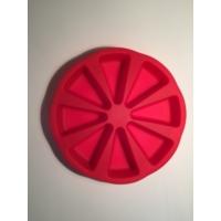 d-sign home Dilimli Silikon Kek Kalıbı - Kırmızı