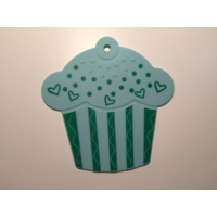 d-sign home Silikon Cupcake Nihale - Turkuaz
