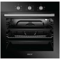 Simfer Oscar 8032 Siyah Cam 6 Programlı Elektro Turbo Ankastre Fırın