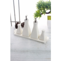 LoveQ Porselen Sosluk Seti Ckr-1495