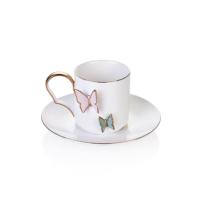 Bernardo Butterfly 6'lı Çay Fincan Seti