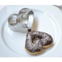 Nomnom Donut Kurabiye Kalıbı Kalp Modeli Doughnuts