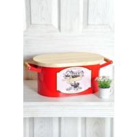 The Mia Ekmek Kutusu Büyük - Kırmızı
