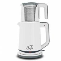 Vestel Sefa Cam Beyaz Çay Makinesi