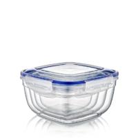 Lock&Fresh 4'lü Contalı Kare Set(500,900,1500,2400 ml)