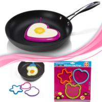 Buffer Omlet Ve Krep Şekil Verici Silikon Kalıplar