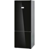 Bosch KGN56LB30N 559 lt A++ Glass Door Siyah Nofrost Buzdolabı
