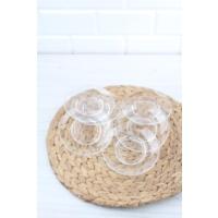 Loveq 6Lı Cam Çay Tabağı Ltd5024