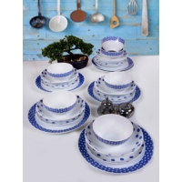 Keramika 24 Parça 6 Kişilik Alfa Renklerin Dansı 43 A Yemek Takımı