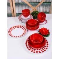 Keramika 24 Parça 6 Kişilik Alfa Renklerin Dansı 48 A Yemek Takımı