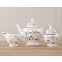 Madame Coco 3Lü Porselen Çay Takımı