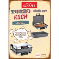 Schafer Turbo Koch Lahmacun Makinesi + Tepsi