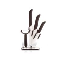 Biev Siyah 5Li Seramik Bıçak Bloğu 10-13-15 cm