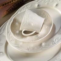 Kütahya Porselen Mitterteich Fulya Krem Porselen 24 Parça Yemek Seti