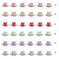 Loveq Kahve Takımı 12 Parça (Tabak 12,5X2 / Fincan 8X6X6 Cm) Drn-29467