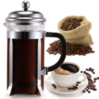 Filtre Kahve French Press Coffee Plunger 600 Ml Paslanmaz İnox