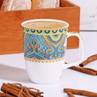 Kosova New Bone Serisi Lüx Porselen Kupa