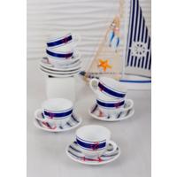 Keramika 12 Adet Kera Çay Takımı Marin