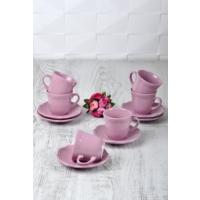 Keramika 12 Adet Romeo Çay Takımı Violet