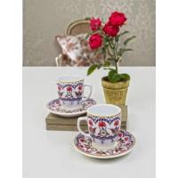 Keramika 4 Adet Magıc Kahve Takımı Lale