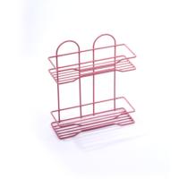 Lalezar Renkli 2'Li Düz Raf