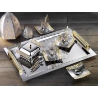 İslamoğlu Kulplu Petek Çay Tepsisi (Gold)