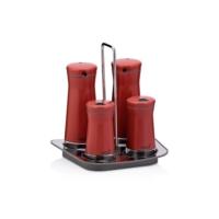 Neva N2399 Sweet Kırmızı Maxi 4'lü Baharat Seti