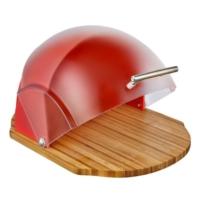 Neva N1162 Sweet Kırmızı Oval Ahşap Ekmeklik