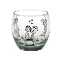 Joy Glass 6'Lı Şeker Peker Su Bardağı