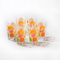 Joy Glass 6 Lı Limon Desenli Bardak