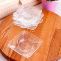 Joy Glass 6'Lı Simge Çay Tabağı